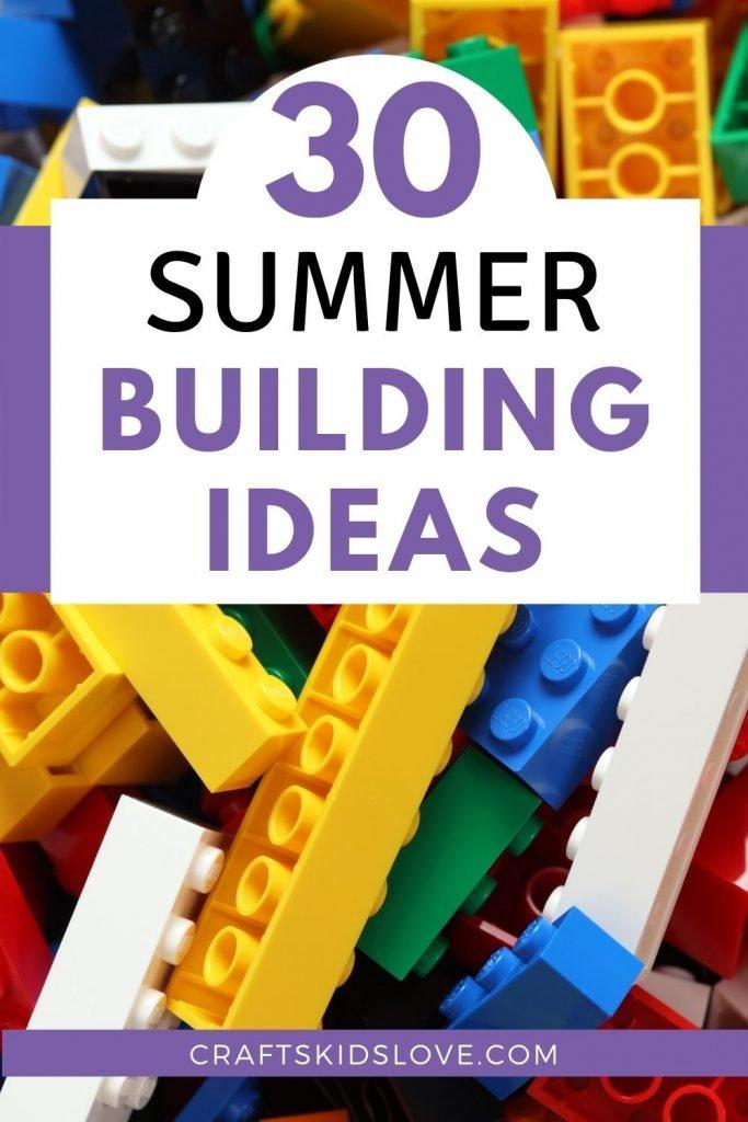30 summer building ideas for lego bricks